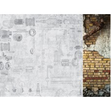 Kaisercraft Factory 42 12 x12 Scrapbookpaper - Plans
