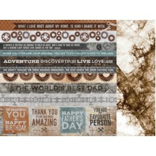Kaisercraft Factory 42 12 x12 Scrapbookpaper - Automated