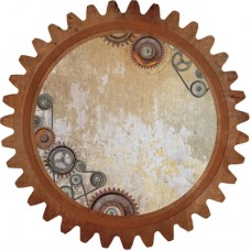 Kaisercraft Factory 42 12x12 Die Cut - Cog & Pulleys