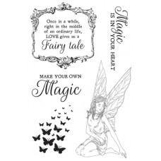 Kaisercraft Fairy Garden Clear Stamp