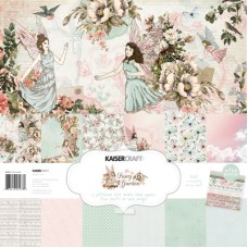Kaisercraft Fairy Garden Paper Pack with Bonus Sticker Sheet
