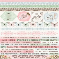 Kaisercraft Fairy Garden Sticker Sheet