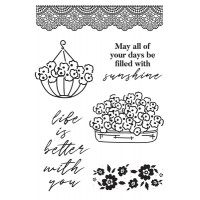 Kaisercraft Flower Shoppe Clear Stamp