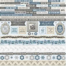 Kaisercraft Frosted Sticker Sheet 12x12