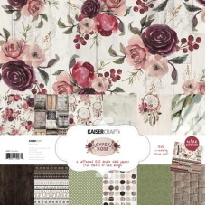 Kaisercraft Gypsy Rose Paper Pack with Bonus Sticker Sheet