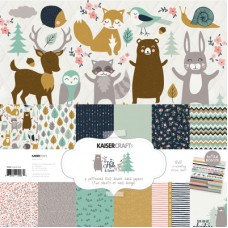 Kaisercraft Hide & Seek Paper Pack with Bonus Sticker Sheet