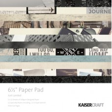 "Kaisercraft Just Landed 6.5"" Paper Pad"