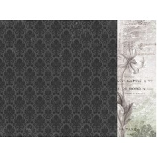 Kaisercraft Lady Like 12x12 Scrapbook Paper - Gertrude