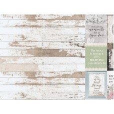 Kaisercraft Lady Like 12x12 Scrapbook Paper - Evelyn