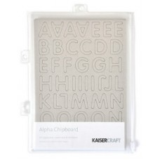 Kaisercraft Chipboard Alpha 3