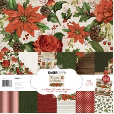 Kaisercraft Letters to Santa Paper Pack with Bonus Sticker Sheet