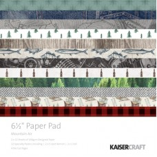 "Kaisercraft Mountain Air 6.5"" Paper Pad"