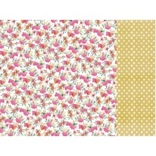 Kaisercraft Native Breeze 12x12 Scrapbook Paper - Pink Protea