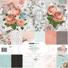 Kaisercraft Ooh La La! Paper Pack with Bonus Sticker Sheet