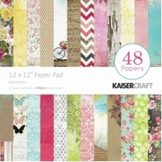 Kaisercraft Expressions Paper Pad 12x12