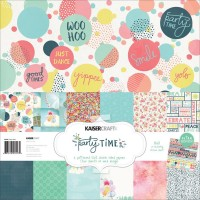 Kaisercraft Party Time Paper Pack with Bonus Sticker Sheet