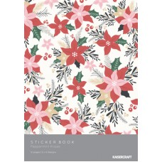 Kaisercraft Peppermint Kisses Sticker Booklet - 12 Pages