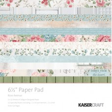"Kaisercraft Rose Avenue 6.5"" Paper Pad"
