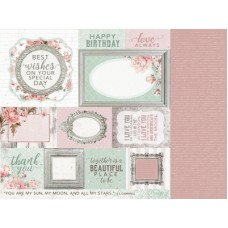 Kaisercraft Sage and Grace 12 x12 Scrapbookpaper - Thoughts