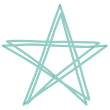 Kaisercraft Decorative Die - Scribble Star