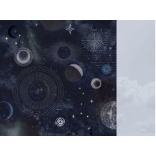 Kaisercraft Stargazer 12x12 Scrapbook Paper - Constellation