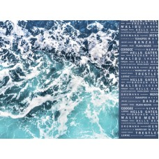 Kaisercraft Summer Splash 12x12 Scrapbook Paper - Swell