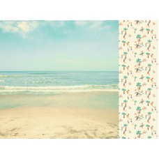 Kaisercraft Summer Splash 12x12 Scrapbook Paper - Sunkissed