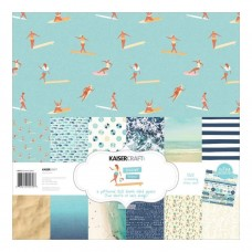 Kaisercraft Summer Splash Paper Pack with Bonus Sticker Sheet