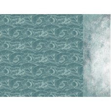 Kaisercraft Uncharted Waters 12x12 Scrapbook Paper - Pelagic