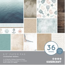 "Kaisercraft Uncharted Waters 6.5""Paper Pad"