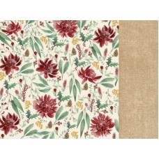 Kaisercraft Under the Gum Leaves 12x12 Scrapbook Paper - Protea