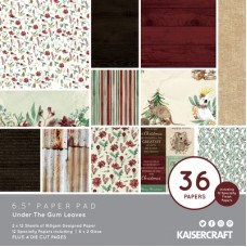 "* Pre Order* Kaisercraft Under the gum Leaves 6.5"" Paper Pad"