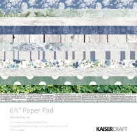 "Kaisercraft Wandering Ivy 6.5"" Paper Pad"