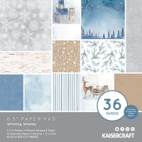 "Kaisercraft Whimsy Wishes 6.5"" Paper Pad"