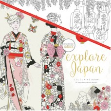 Kaisercraft Colouring Book Explore Japan