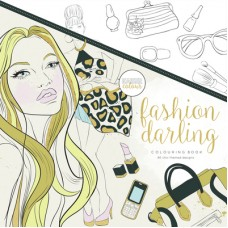 Kaisercraft Colouring Book Fashion Darling