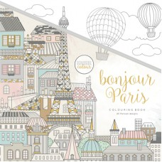 Kaisercraft Colouring Book Bonjour Paris