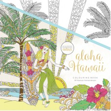 Kaisercraft Colouring Book Aloha Hawaii