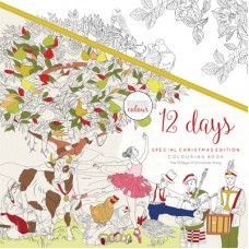 Kaisercraft Colouring Book 12 Days