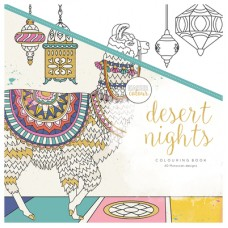 Kaisercraft Colouring Book Desert Nights