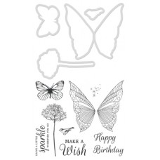 Kaisercraft Decorative Die & Stamp Make a Wish
