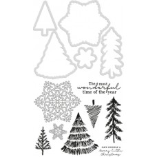 Kaisercraft Decorative Die & Stamp Nordic Christmas