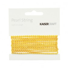 Kaisercraft Gold Pearl String 2m