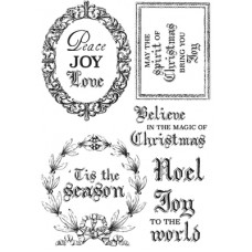 Kaisercraft Letters to Santa Clear Stamp