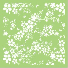 Kaisercraft Stencil 6x6 Designer Template - Bloom