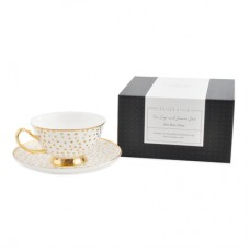 Kaisercraft K Style - Tea Cup & Saucer - SPOTTED