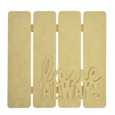 Kaisercraft BTP - 3d Wall Art - Love Always