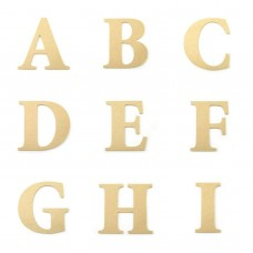 Alphabet Large Wooden Letters 25cm