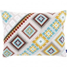 VERVACO DMC NEEDLEWORK Cross stitch cushion kit Ethnical IV