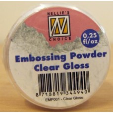 Nellie's Choice Embossing Powder 25g - Clear Gloss